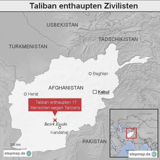 Taliban enthaupten Zivilisten