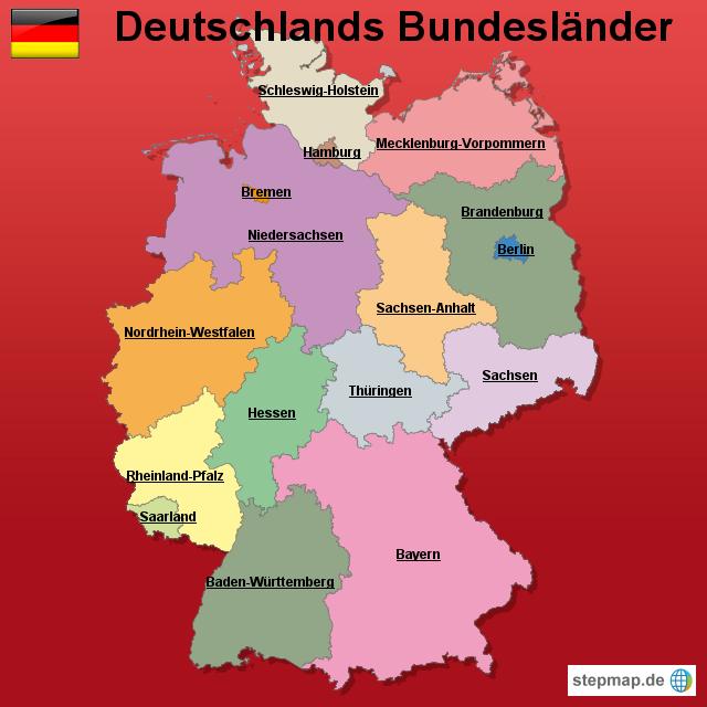Deutschland Bundesl�nder