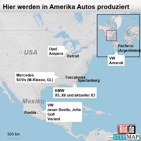 Hier werden in Amerika Autos produziert
