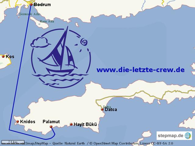 Bodrum - Hayit Bükü  Segeln Türkei