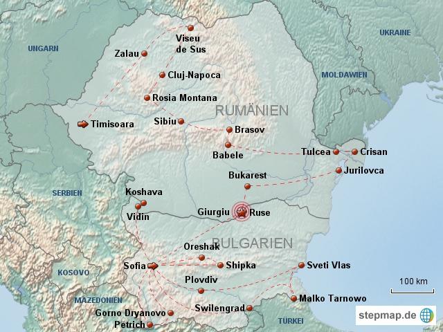 Themenkarte Facing Europe
