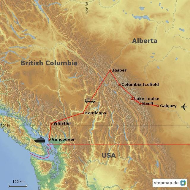Rocky Mountains Trip 2012