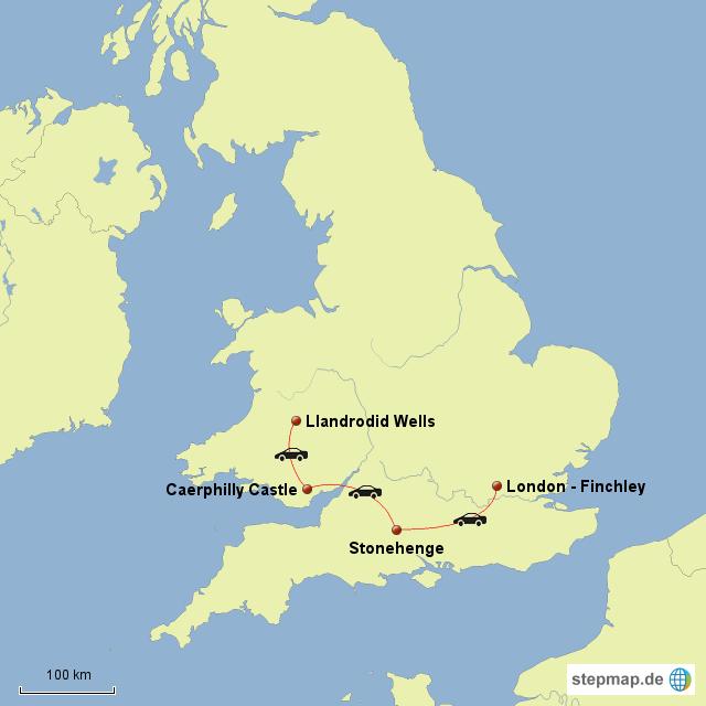 Llandrodid Wells - Finchley