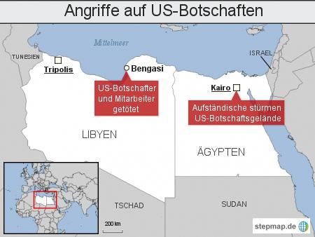 Angriffe auf US-Botschaften