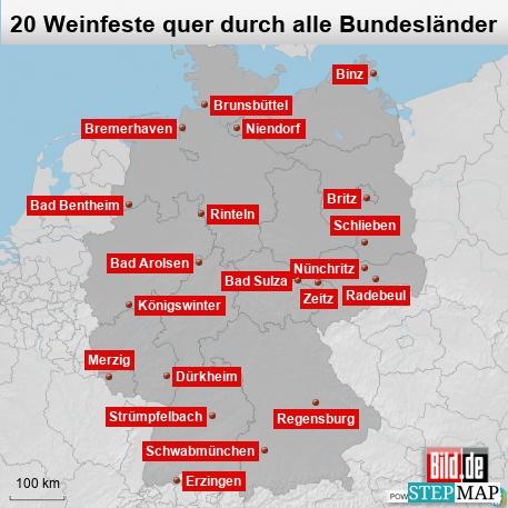 Weinfest in Deutschland