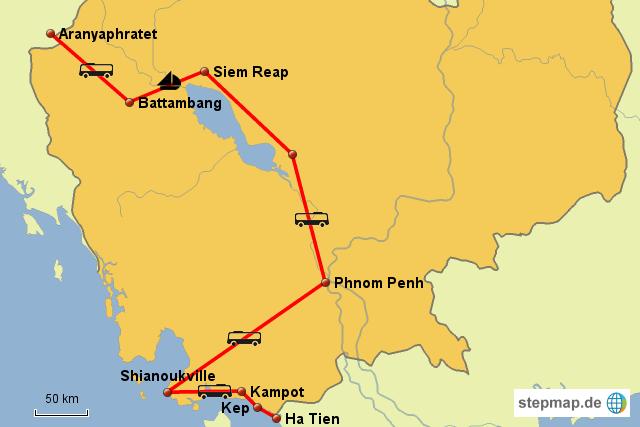 Weltreise - Kambodscha
