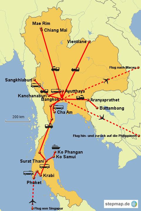 Weltreise Thailand