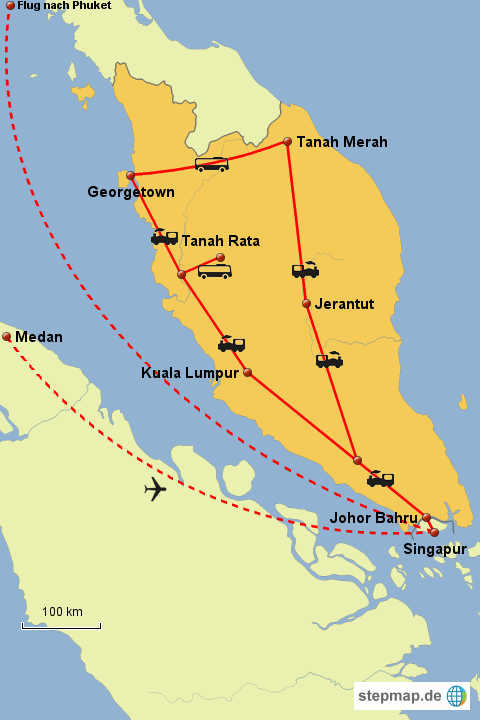 Weltreise Malaysia