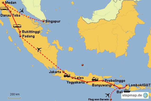 Weltreise Indonesien