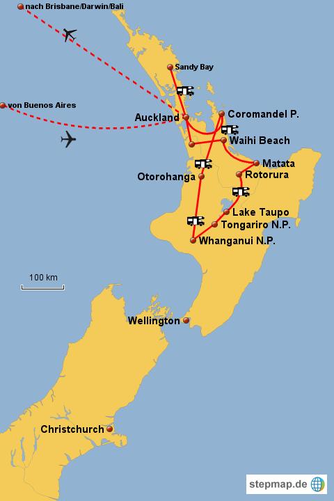 Weltreise Neuseeland
