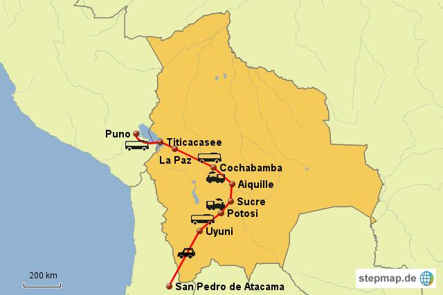 Weltreise Bolivien