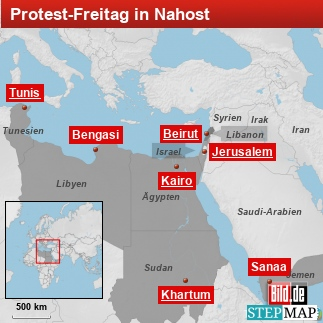 Protest Freitag Nahost
