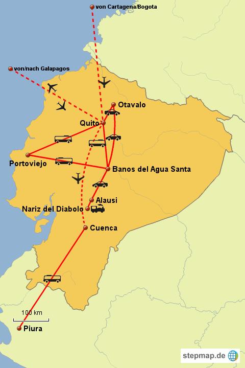 Weltreise Equador