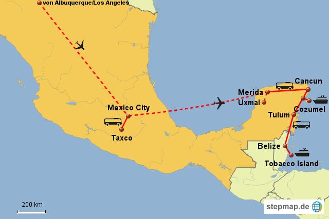 Weltreise Mexico