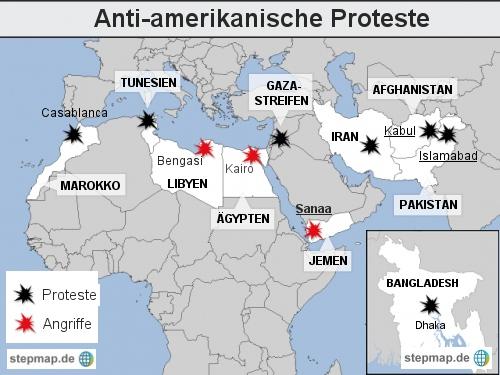Anti-amerikanische Proteste