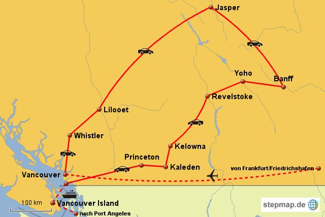Weltreise Kanada