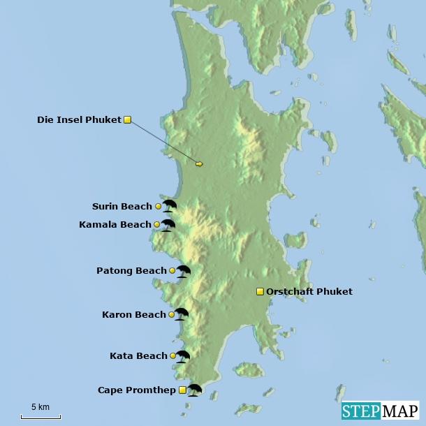 Die Insel Phuket