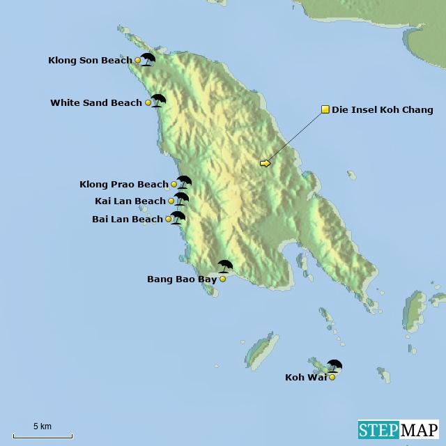 Die Insel Koh Chang