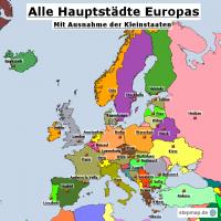 Europas Hauptstädte