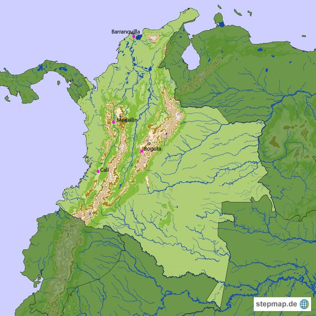 Kolumbien Länderinfo