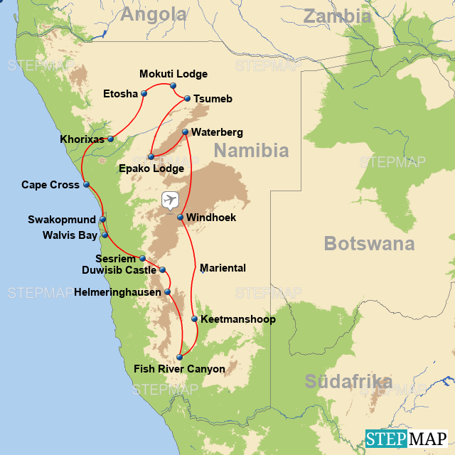 Namibia - Rundreise
