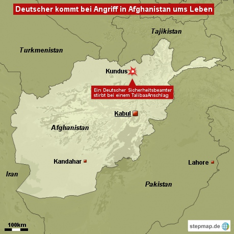 Deutscher kommt bei Angriff in Afghanistan ums Leben