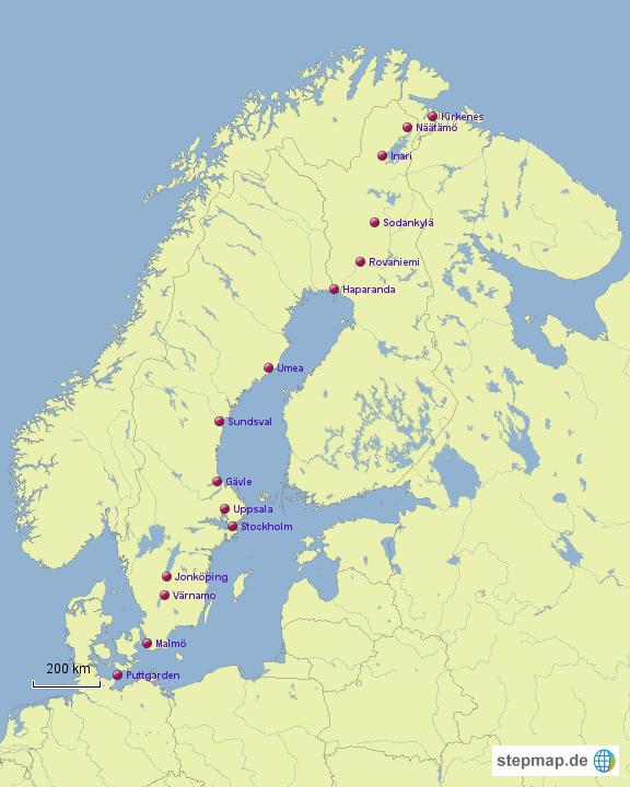 Mit dem WoMo nach Norwegen