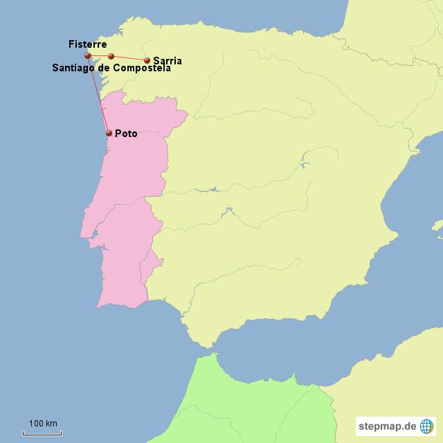 Fisterre - Porto 311km