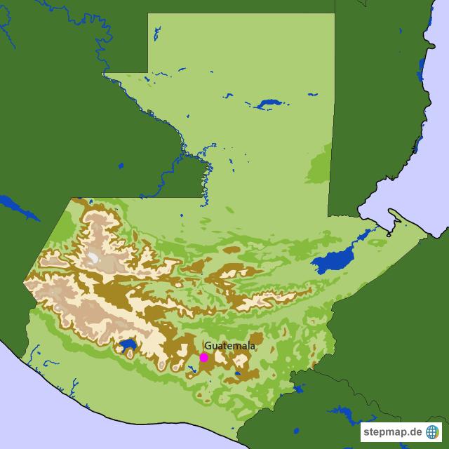 Guatemala Länderinfo