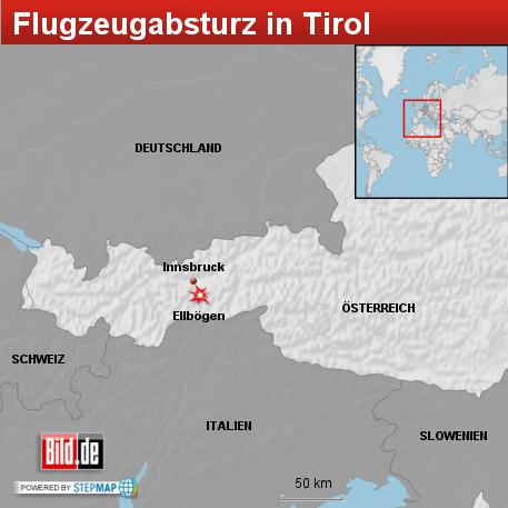 Flugzeugabsturz in Tirol