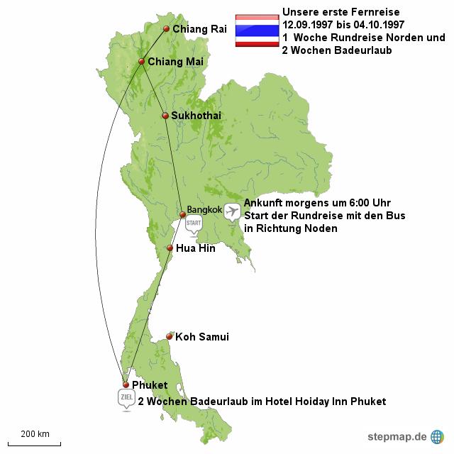 Thailand unsere erste Fernreise!!