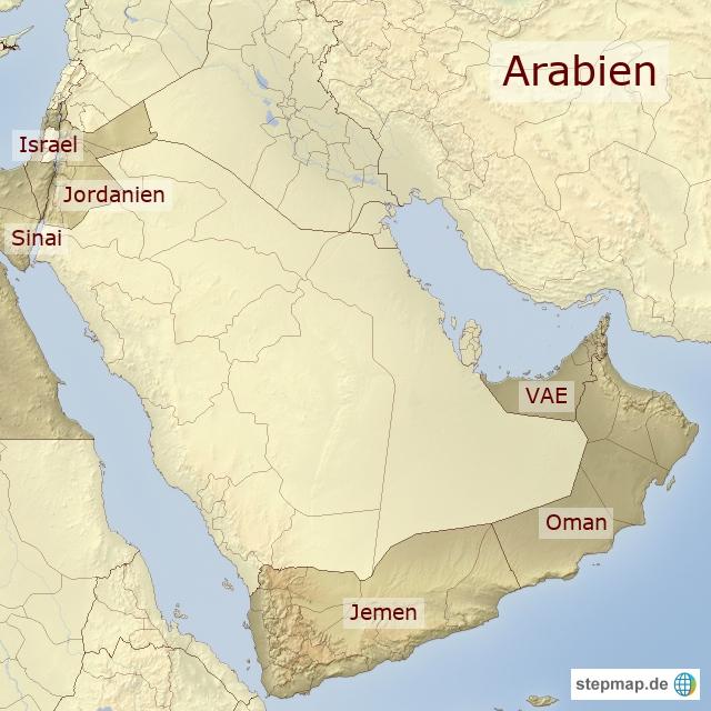 Arabien Reiseländer