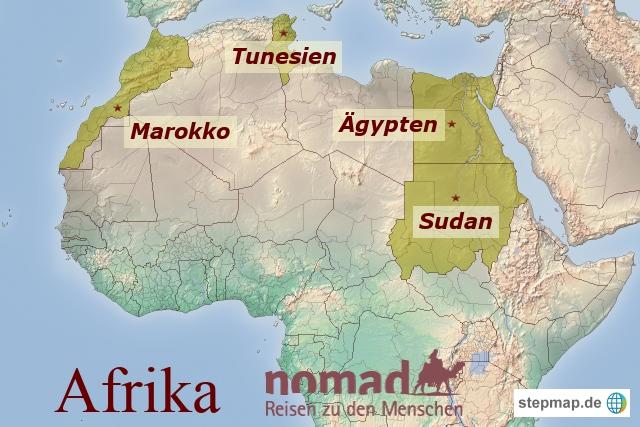 Afrika Reiseländer