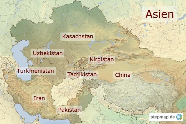 Asien Reiseländer