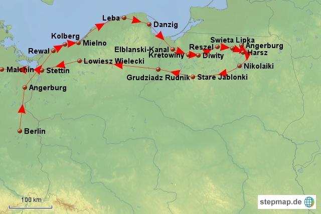 Polenrundreise 2012