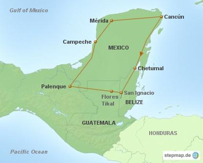 Erbe der Maya - Länderkombination