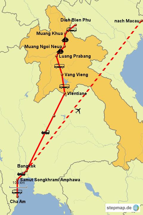 Weltreise Laos