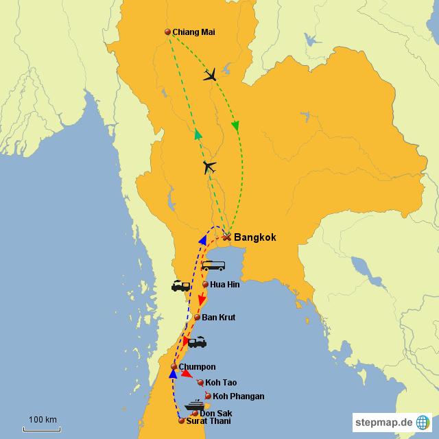 Thailandroute