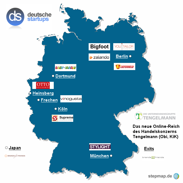 Beteiligungsfieber in Mülheim: Tengelmann steigt bei Stylight ein
