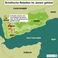 Schiitische Rebellen im Jemen getötet