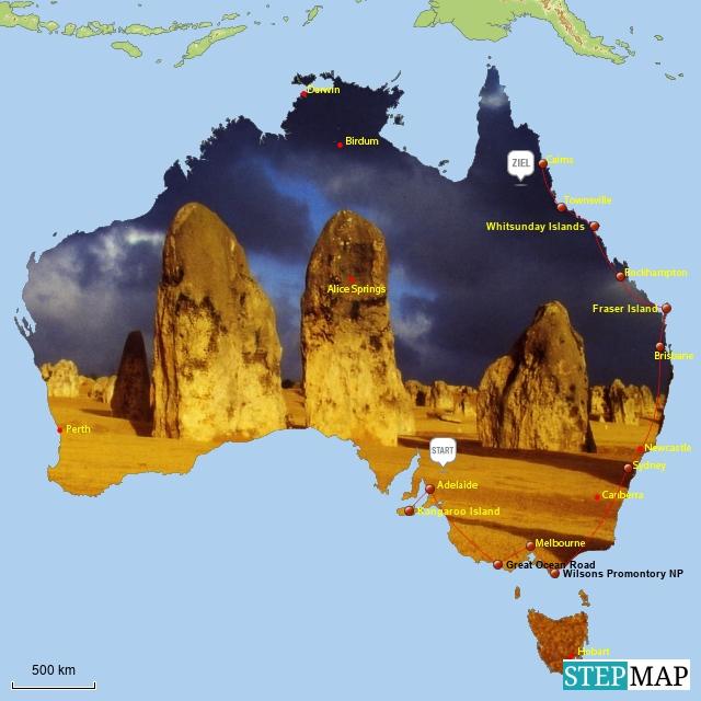 Australienreise 2001