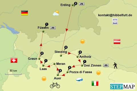 Südtirol 2012