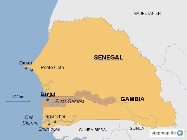 Westafrika - Senegal und Gambia