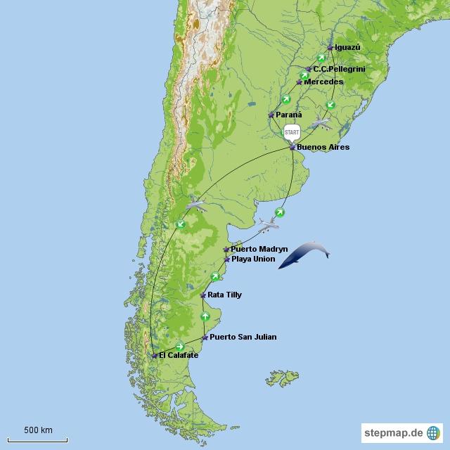 Route Argentinien