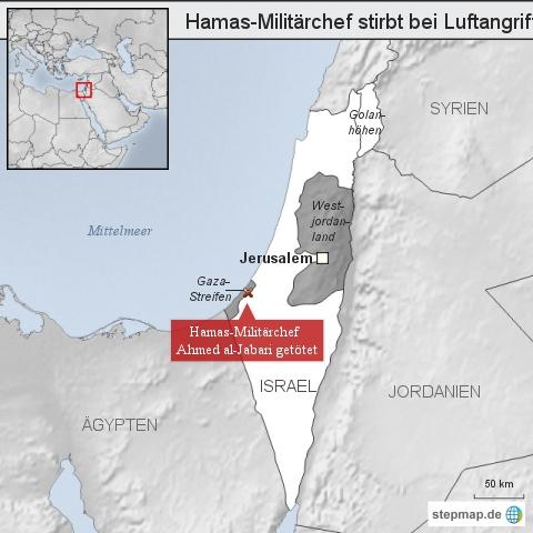 Hamas-Militärchef stirbt bei Luftangriff