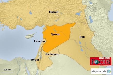 Syrien und Nachbarstaaten