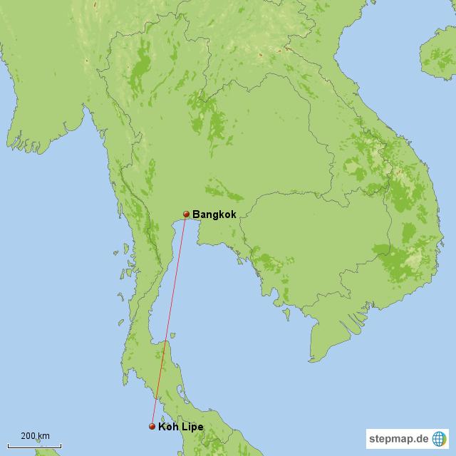 Thailand, 18.-28.10.2012