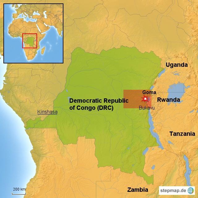 Goma, DRC