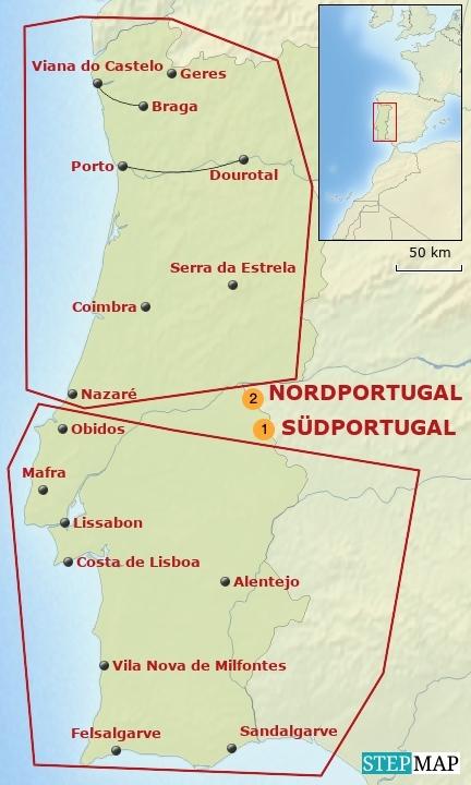 Portugal Bausteinübersicht