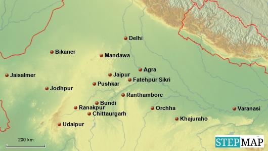 Rundreise Nordindien